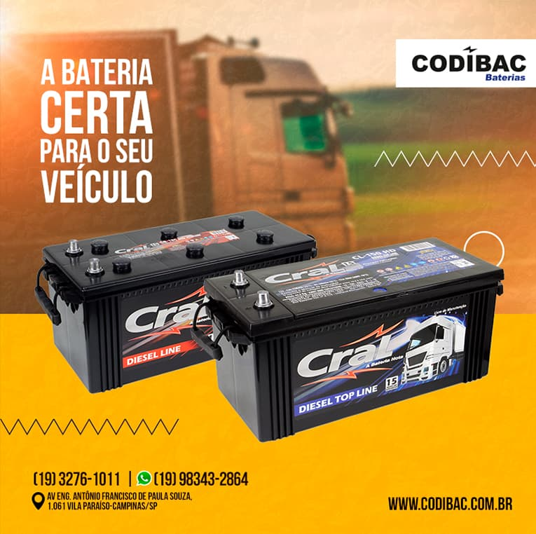 Baterias Codibac